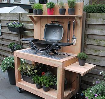 for Huis in tuin voor ouders